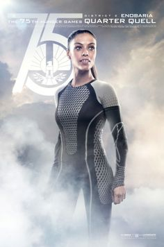 NEW CATCHING FIRE POSTERS SHOW OFF ALL OF THE VICTORS! Enobaria (Meta Golding)