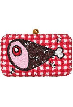 Ham clutch bag by the Rodnik Brand