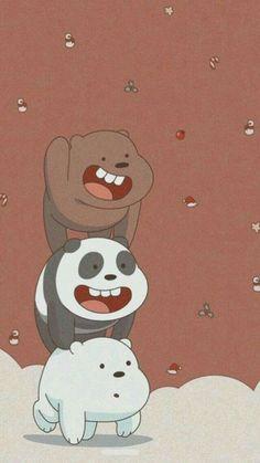 Cute Panda Wallpaper, Cute Desktop Wallpaper, Cartoon Wallpaper Iphone, Disney Phone Wallpaper, Bear Wallpaper, We Bare Bears Wallpapers, Panda Wallpapers, Cute Cartoon Wallpapers, Cartoon Pics