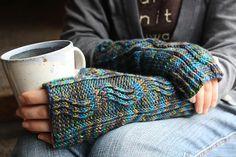 A River Runs Through Mitt一条河流穿过手套运行 - 编织幸福 - 编织幸福的博客