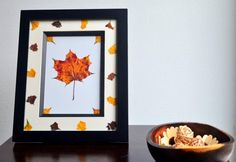 """DIY Arts &  Crafts : DIY Preserving Fall leaves with Mod Podge €"""" Bring €˜Autumn€™ into yourhome!"""