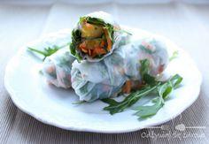 Warzywno owocowe Spring Rollsy Odżywiaj się zdrowo