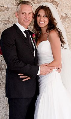 SEE PICS: Gary Lineker and Danielle Bux's wedding
