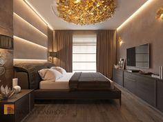 Спальня, стиль минимализм, ЖК Duderhof Club