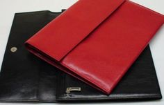 Aktenmappe (rot und schwarz) Continental Wallet, Bag Accessories, Bags, Red, Black, Products, Leather, Handbags, Dime Bags