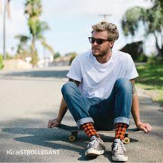 Love #california? That's where #strollegant socks are born and raised. Follow…
