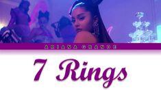 Lyrics of 7 Rings song from Ariana Grande's Thank U, Next album. Savage Lyrics, Nicki Minaj Lyrics, East Coast Hip Hop, Lyrics Lyrics, Ariana Grande Lyrics, Will Turner, Bastille, Retail Therapy, I Smile