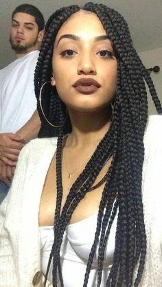Thick Box Braids Jumbo Colored Beautiful African Hair Beleza Twists