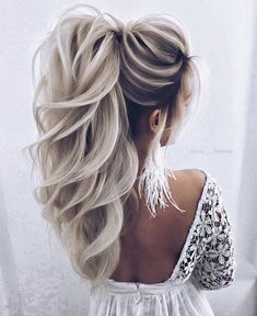 34 trendy silver / gray hairstyle ideas for 2019 - cool trendy silver / gray hairstyle ideas for 2019 frisur ideen silber trendy medium length hair color - new best hairstyleMedium length Wedding Hairstyles For Women, Pretty Hairstyles, Prom Hairstyles, Hairstyle Ideas, Hairstyle Tutorial, Date Night Hairstyles, Braided Hairstyles, Blonde Wedding Hairstyles, Wedding Hair Blonde