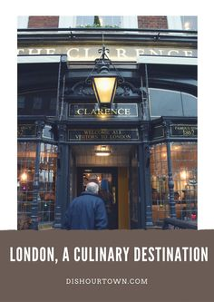 London is a culinary destination via @DishOurTown - The best of London dishes and eats.