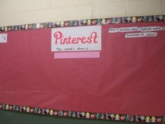 """Pinterest bulletin board to """"pin"""" pictures of math found in everyday life- could use for any subject"""