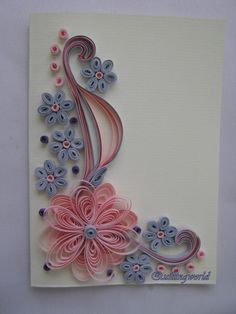 Best 12 Birthday Card – Mother's Day Card – Quilling Card – Wedding Card – SkillOfKing. Quilling Birthday Cards, Paper Quilling Cards, Paper Quilling Patterns, Origami And Quilling, Quilled Paper Art, Neli Quilling, Quilling Work, Quilling Paper Craft, Paper Quilling For Beginners