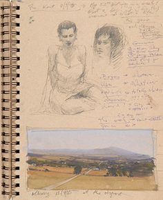 Joseph Zbukvic is a strong believer in the benefits of painting on location. Watercolor Artist offers a peek inside his sketchbook.