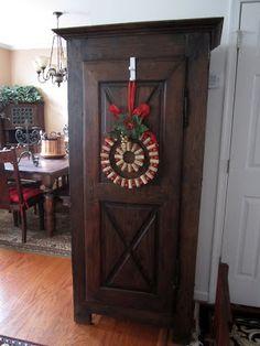 Wine & Cork: {DIY} Wine Cork Christmas Wreath