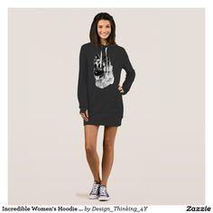 Incredible #Women's #Hoodie #Dress