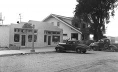 On the south side of LA Avenue was Appleton Radio, the Susana Cleaners and the two-story Crinklaw home, just west of Tapo Street. Photo c. Simi Valley, San Fernando Valley, Ventura County, Street Photo, Southern California, Places Ive Been, Two By Two, Pictures, Photos
