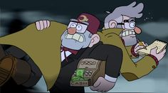 Grunkle Ford and Stan run by HezuNeutral ))))People thought ford would be added to the theme and this would be how. Ghostk1d