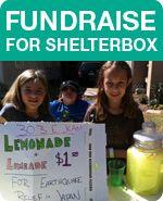 Fundraising for a Shelterbox for a Nepal Family! Inc. Tent, cooking items and more! Donation link on right side of page