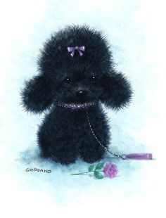 "See our internet site for additional info on ""poodle dogs"". It is a great location to find out more. Animals And Pets, Cute Animals, Teddy Bear Dog, Creation Photo, Paper Animals, Dog Cards, Cute Little Things, Animal Drawings, Pet Portraits"