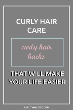 Curly hair tips and tricks. Is your naturally curly hair frizzy? Well these hack. - Curly hair tips and tricks. Is your naturally curly hair frizzy? Well these hack. Curly Hair Routine, Curly Hair Tips, Curly Hair Care, Frizzy Hair, Short Curly Hair, Curly Hair Styles, Curly Girl, Tips And Tricks, Curly Hair Problems