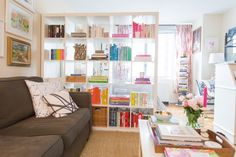 11 Small Space Hacks to Steal from This Blogger's NYC Studio   Brit + Co