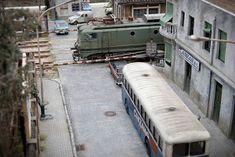 TrainScape: Paso a nivel de Peñuelas 11º Escala Ho, Modelista, Model Trains, Miniatures, Madrid, Scale, Amor, Railroad Photography, Parking Lot