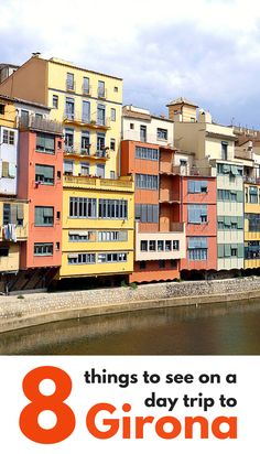 Taking a day trip from Barcelona? Have a look at what to see in Girona, an quiet Catalan alternative. Includes how to get from Barcelona to Girona by train. Backpacking Europe, Europe Travel Tips, Spain Travel, Travel Guides, Travel Destinations, Places Around The World, Travel Around The World, Around The Worlds, Spain Places To Visit