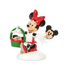 Department 56 Disney Village Accessory Figurine Minnie Decorating Cookies >>> You can get additional details at the image link. Disney Christmas Village, Disney Village, Department 56 Christmas Village, Mickey Christmas, Christmas Store, Christmas Villages, Merry Christmas, Disney Holidays, Santa's Village