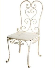 Allissias Attic Design & Vintage French Style — French Bistro Chair & Table