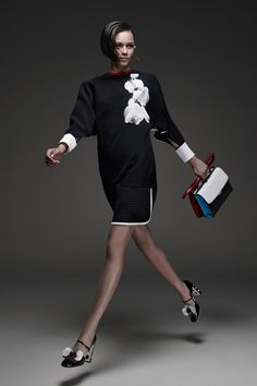 Fendi | Cruise/Resort 2015 Collection via  Karl Lagerfeld & Silvia Venturini Fendi | Modeled by Binx Walton | Milan; May 28, 2014 | Style.com