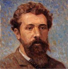 Self portrait by Georges Seurat,