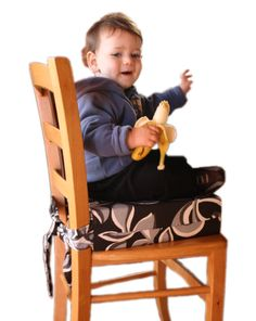 Sitata Toddler Cushioned Booster Seat - Turn any chair into a safe and comfortable highchair!    Made of firm foam, the Sitata gives toddlers a safe and
