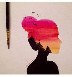 Image shared by Lulu_ly. Find pictures and videos about Bild geteilt durch Lulu_ly. Finden Sie Bilder und Videos über Mädchen, Schöne… Image shared by Lulu_ly. Find pictures and videos about girls, beauty and art on …. Cool Art Drawings, Art Drawings Sketches, Easy Drawings, Oil Pastel Drawings, Beautiful Drawings, Colorful Drawings, Pencil Drawings, Dibujos Tumblr A Color, Pastel Art