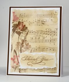 by Penny Black Designer, Heather Telford. Let me count the ways. Penny Black Karten, Penny Black Cards, Making Greeting Cards, Greeting Cards Handmade, Musical Cards, Stampin Up Karten, Beautiful Handmade Cards, Pics Art, Sympathy Cards