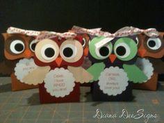 Valentine Owl Boxes
