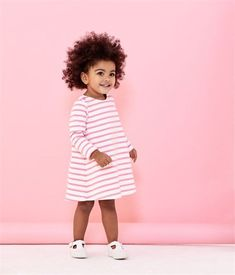 Baby girl's striped dress