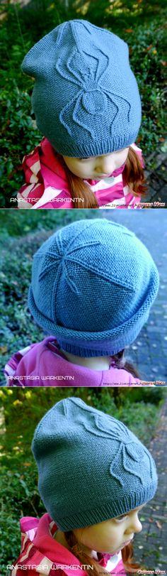 liveinternet.ru Knitting Patterns Free, Free Pattern, Knitted Hats, Crochet Hats, Knitting For Kids, Winter Hats, Beanies, Shawl, Hands