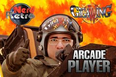 GIGAWING - ARCADE GAMEPLAY PTBR -  NERD RETRÔ - ARCADE PLAYER