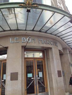 Le Bon Marché in Paris, Île-de-France The city's oldest department store, opened in 1848