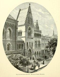 "archimaps: ""The Art Association Building on Montague Street, Brooklyn """
