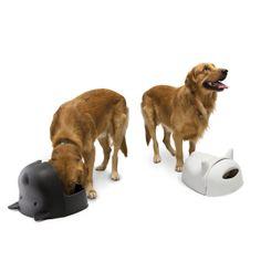 Geschenk für Hundeeltern! Fressnapf mit Deckel zum hoch und runter klappen! Für einen ästhetischen und sauberen Futterplatz.