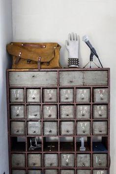 Mail box, storage.