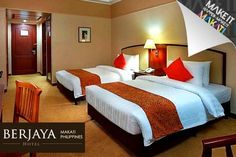 Enjoy a Cozy City Staycation for Two in Deluxe Room Accommodations at Berjaya Makati Hotel: Choose One or Two Nights http://www.beeconomic.com.ph/deals/groupon-travel/Berjaya-Makati-Hotel/716869392