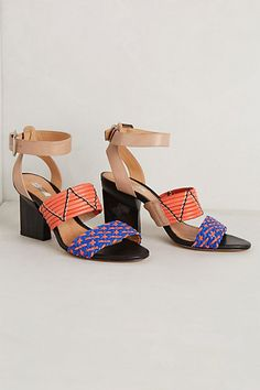 These shoes WIN fun: Wild Roads Sandals - anthropologie.com