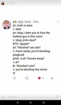 I hope I was this mirror mirror - BTS - . I hope I was this mirror mirror - BTS - memes Bts Citations, K Pop, Bts Scenarios, Vkook Memes, W Two Worlds, Bts Memes Hilarious, Bts Tweet, Bts Quotes, About Bts