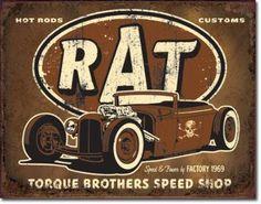 Rat Hot Rods Torque Brothers Speed Shop