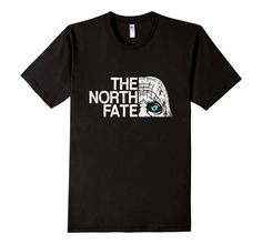 I love the design on this Game of Thrones & The North Face Inspired White Walker Shirt