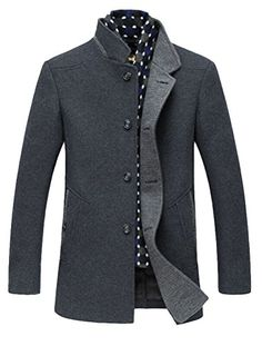 Minibee Men's Detachable Scarf Stand Collar Fashion Jacket Coat Gray L Minibee http://www.amazon.ca/dp/B019K7BZWA/ref=cm_sw_r_pi_dp_5OlEwb0184HGE