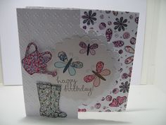 Card made using this papercrafting kit