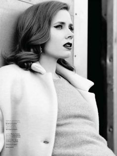 Amy Adams, photographed by Mathieu Cesar for L'Officiel de la Mode, Feb Emily Deschanel, Actress Amy Adams, Famous Faces, Beautiful Actresses, Girl Crushes, American Actress, Movie Stars, Actors & Actresses, Popular Actresses